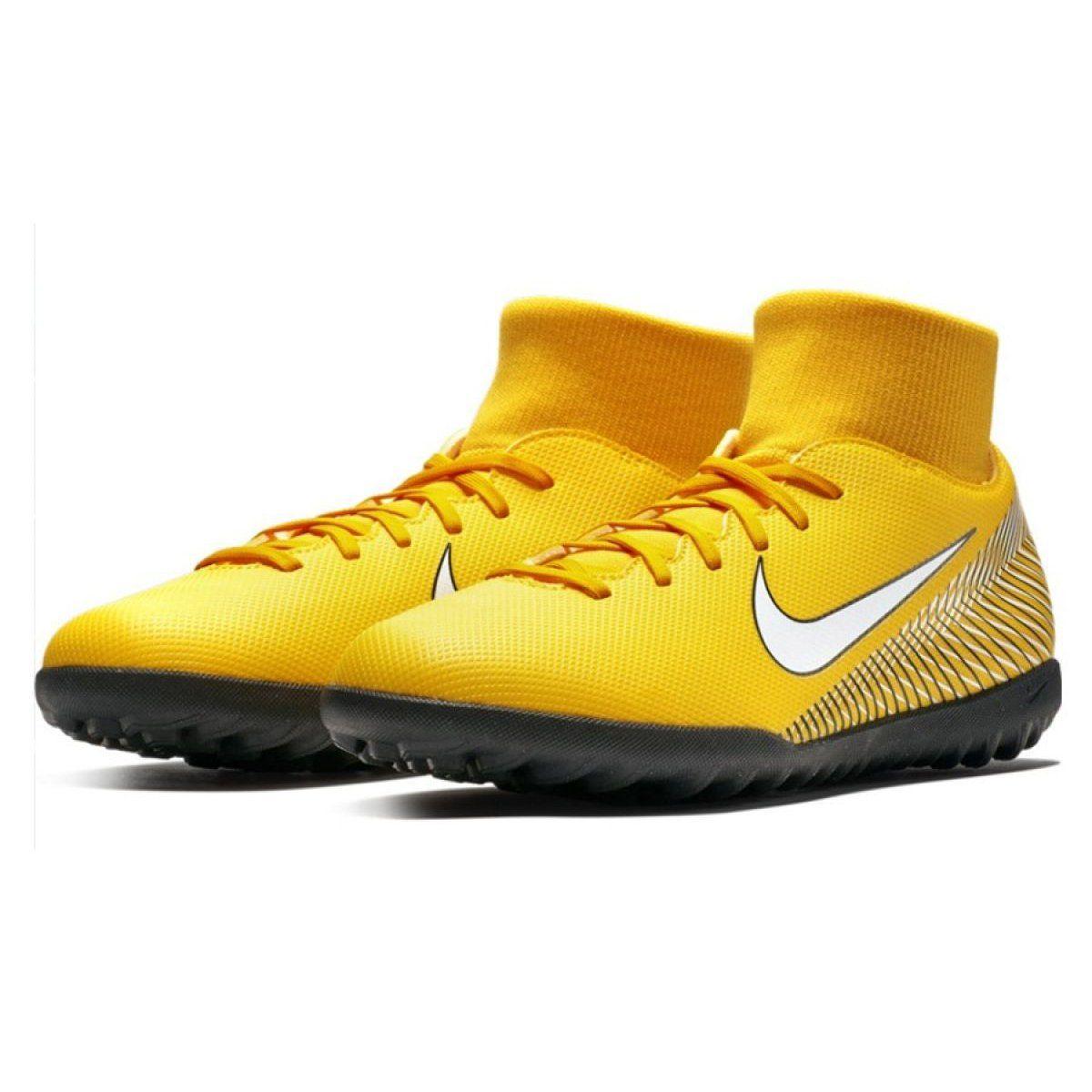 Buty Pilkarskie Nike Mercurial Neymar Superflyx 6 Club Tf M Ao3112 710 Zolte Zolte Football Shoes Nike Football Neymar Football