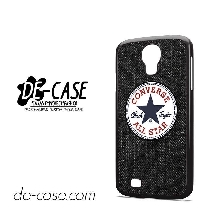 Black Jeans Texture Converse DEAL-1866 Samsung Phonecase Cover For Samsung Galaxy S4 / S4 Mini