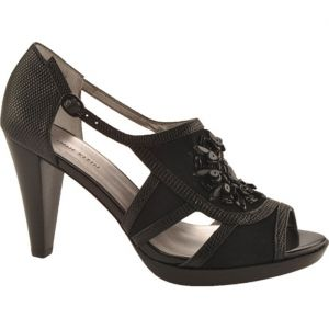 SALE - Anne Klein Eureka 3 Cone Heels Womens Black Synthetic - Was $85.00 - SAVE $18.00. BUY Now - ONLY $67.45.