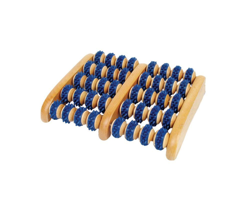 f89fbc9a29 Amazing Foot Roller wood foot massager with 40 rollers to massage and  soothe. Product Guarantee!