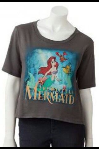 ALL SIZES Official DISNEY Ariel THE LITTLE MERMAID Girls Pretty T-Shirt Top Gift