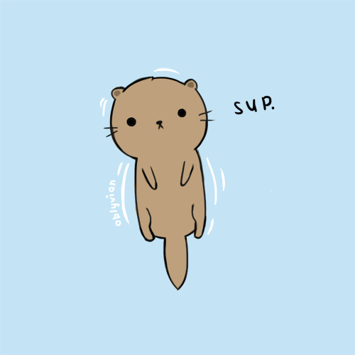 cute otter � drawings techniques tutorials ect