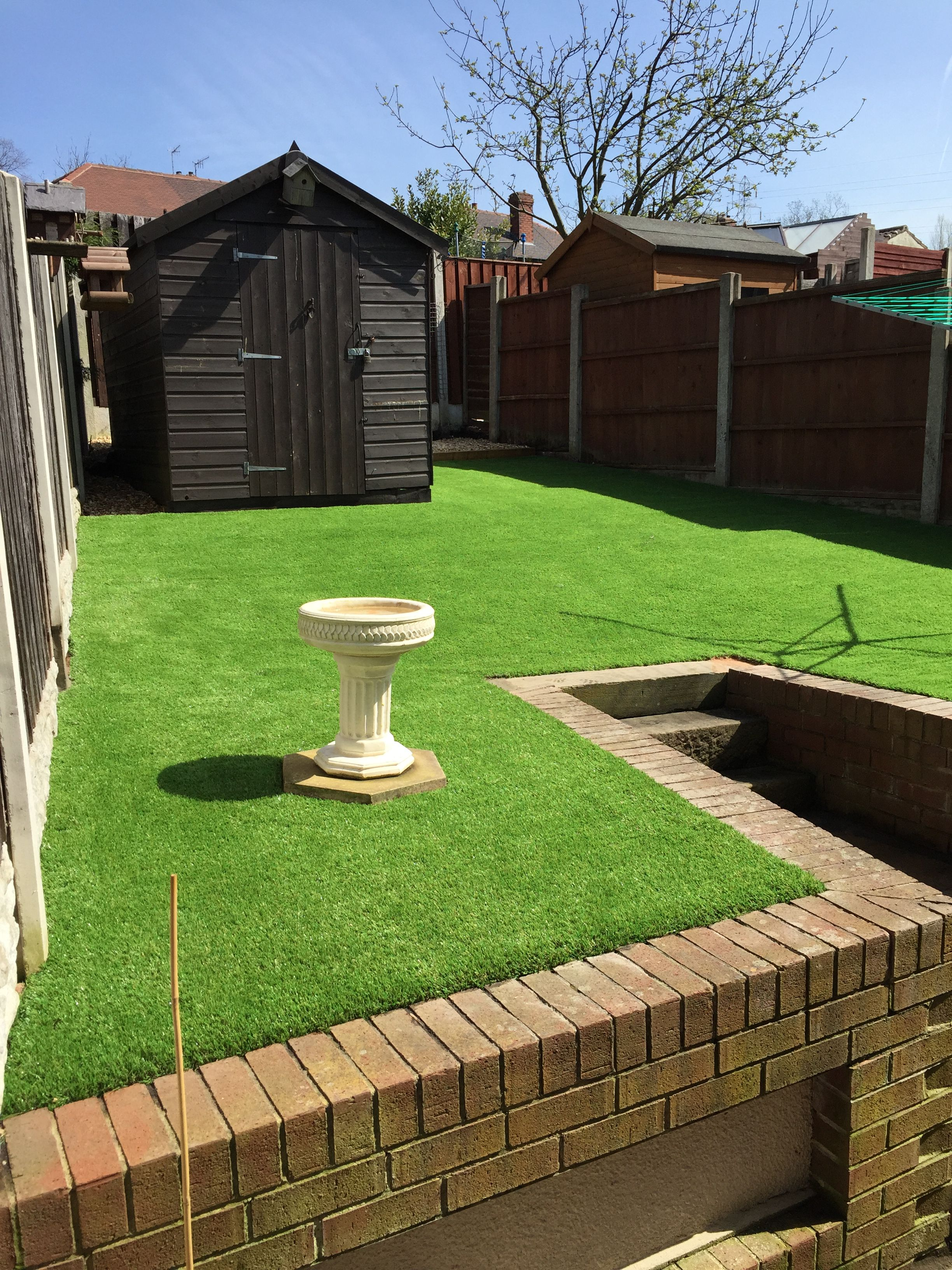 A back garden that we completed in Kimberworth, Rotherham, with our ...