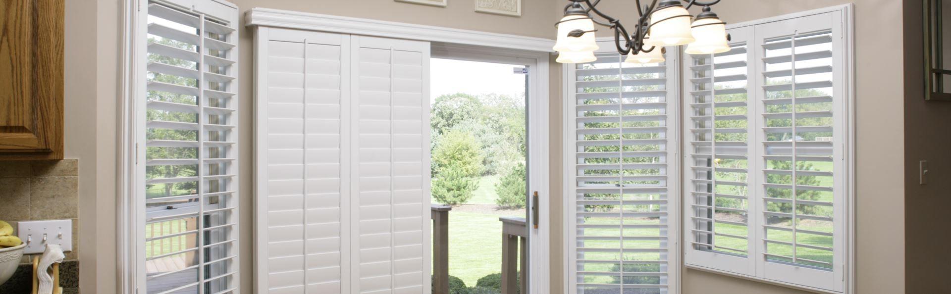 Pictures of shutters on sliding glass doors glass doors