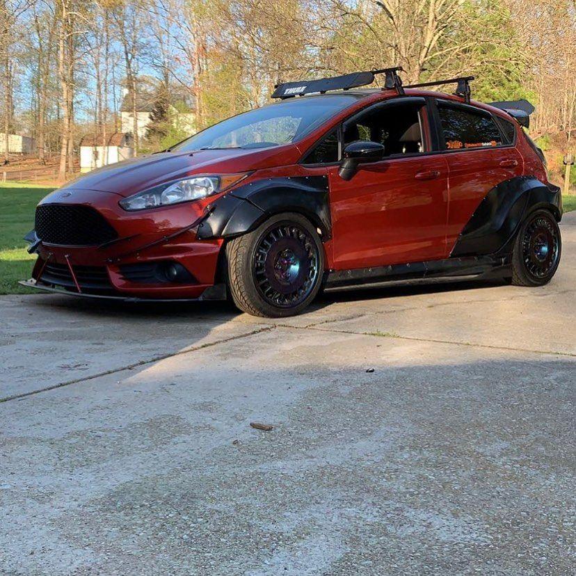 Ford Fiesta Mk7 5dr Wide Body Kit Krotov Pro In 2020 Body Kit Wide Body Kits Wide Body