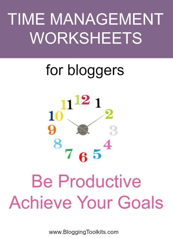 time management worksheets for bloggers time management for moms time management worksheet. Black Bedroom Furniture Sets. Home Design Ideas
