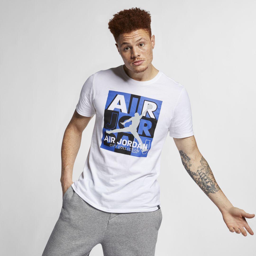 98871541b2d2 Jordan Legacy AJ 10 Men s T-Shirt Size 4XL (White)