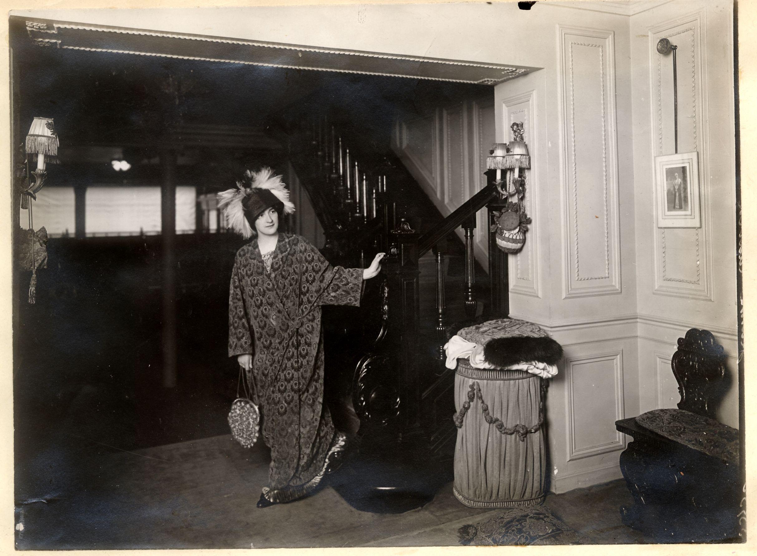 Intérieur de la boutique 22 Fbg, 1912 © Patrimoine Lanvin. #Lanvin125