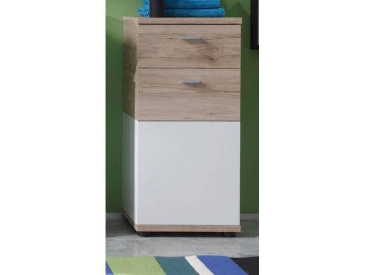 Badschrank Kommode Unterschrank Campus In Eiche San Remo Und Weiss 36x8 Filing Cabinet Home Decor Decor