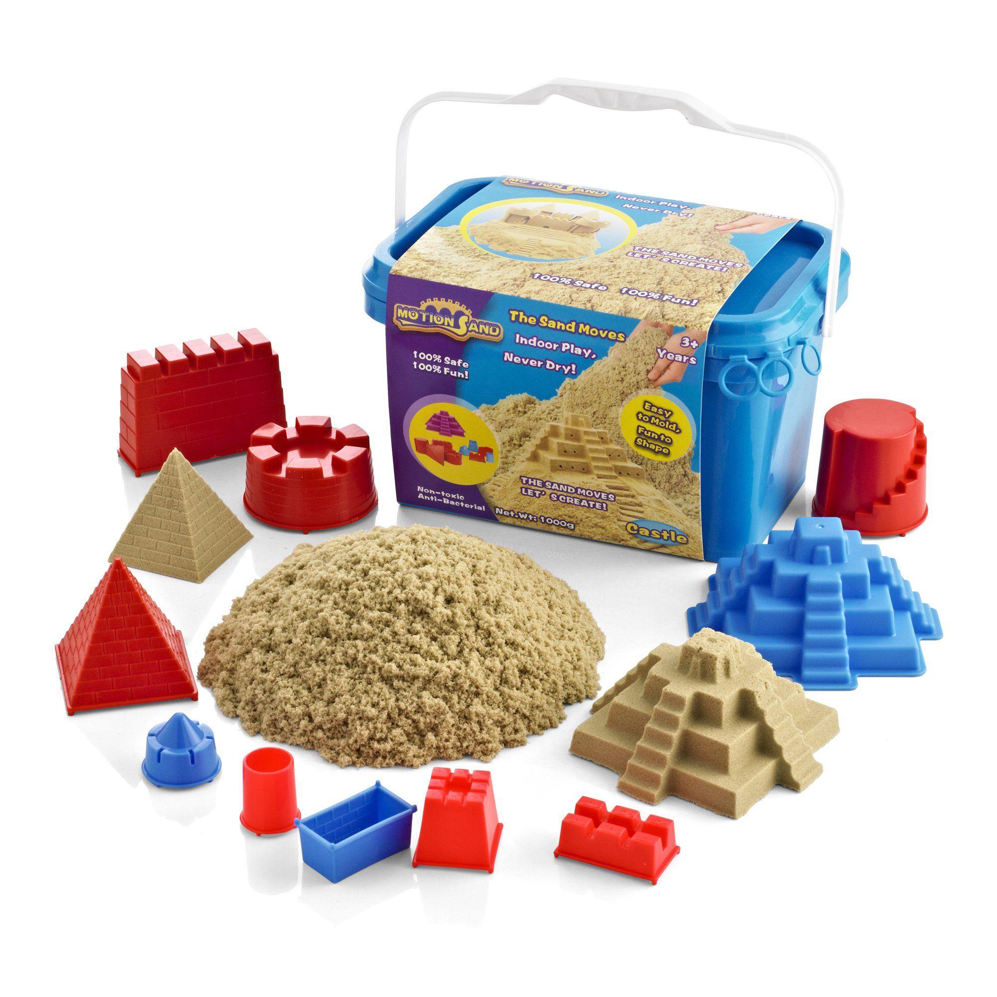 Motion Sand® Castle Bucket Playset Motion sand, Beach
