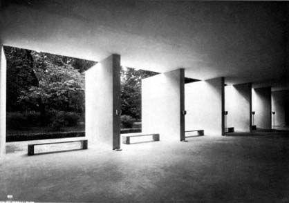 Giuseppe Pagano Pogatschnig Padiglione Aggiunto Al Palazzo Dell Arte Alla Vi Triennale Milan 1936 Arquitectura Moderna Arquitectura