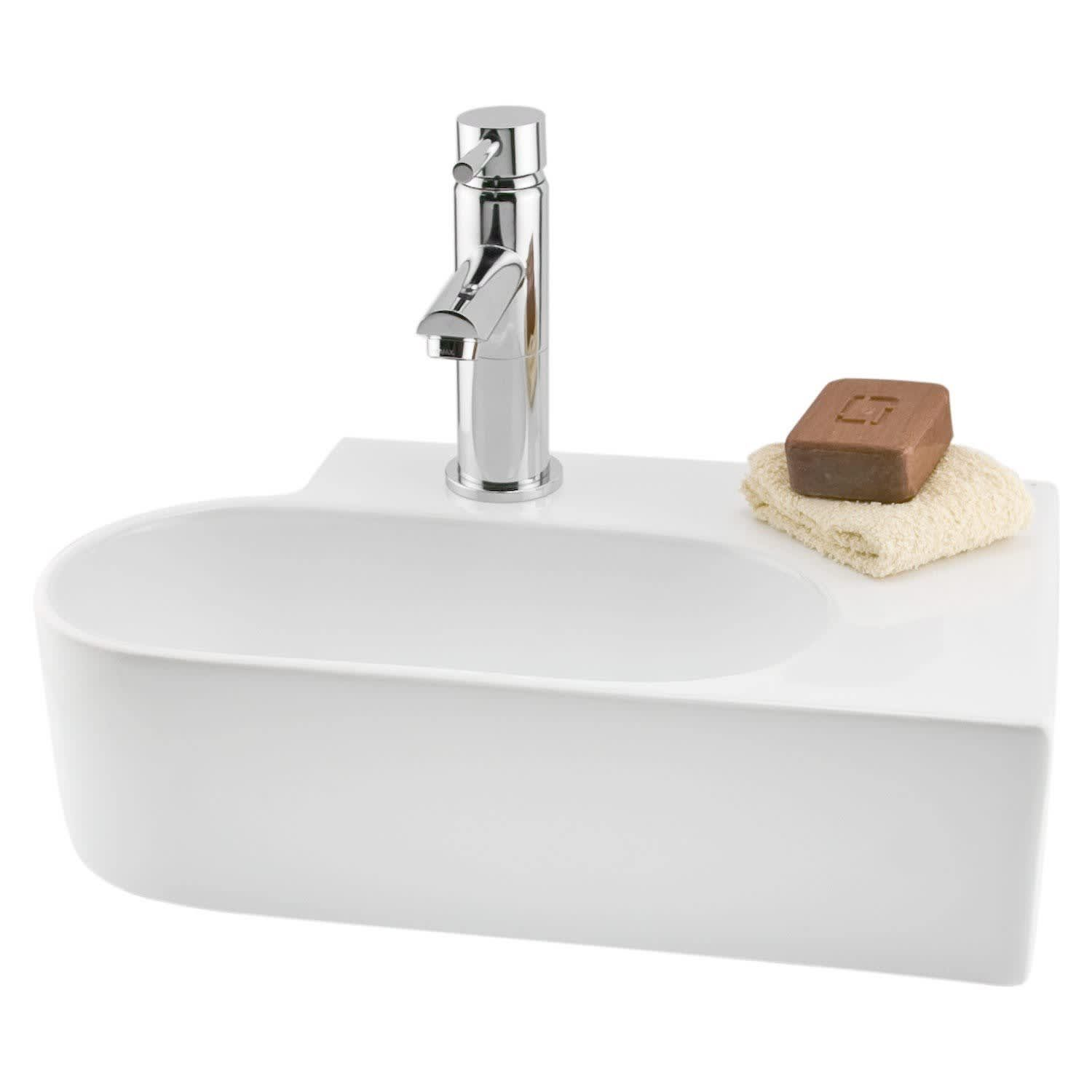 Small Vanities & Sinks You Can Squeeze Into Even the ...