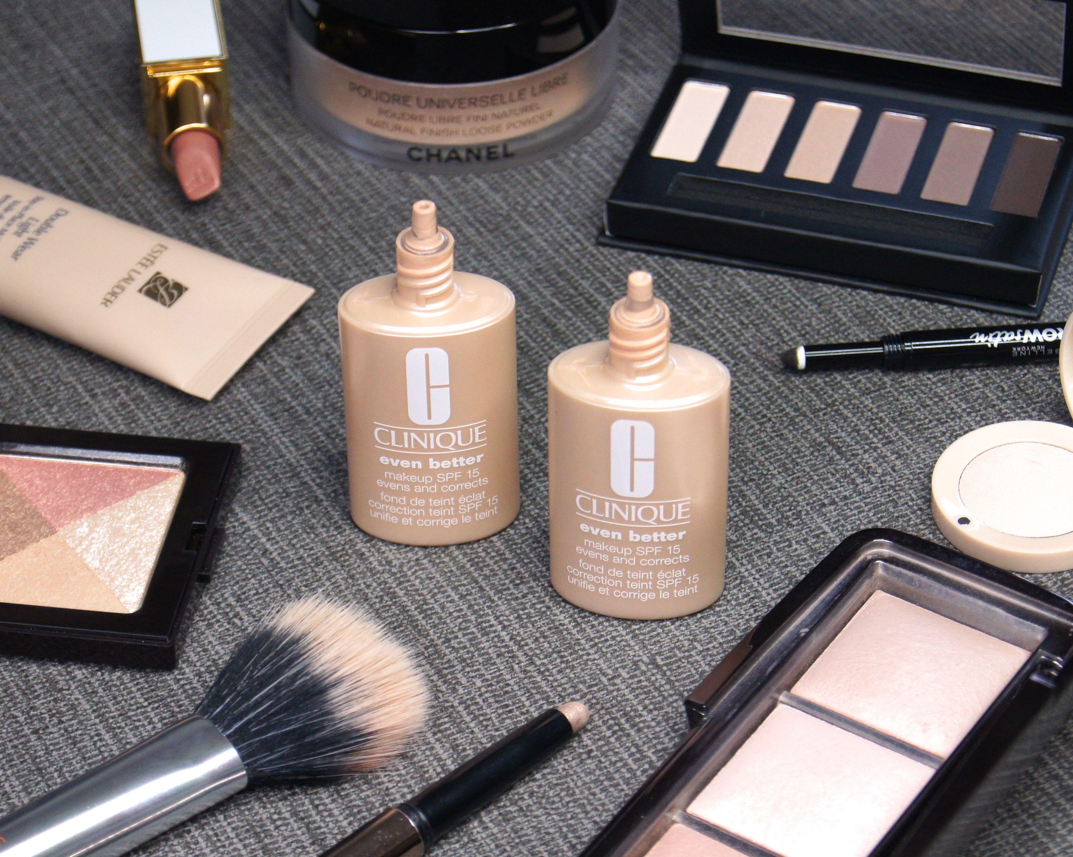 Clinique even better makeup foundation review swatches before - Clinique Even Better Foundation Review Swatches