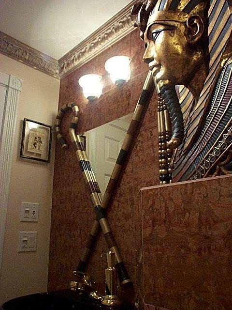Egyptian 1 2 Bathroom Egyptian Home Decor Egyptian Furniture