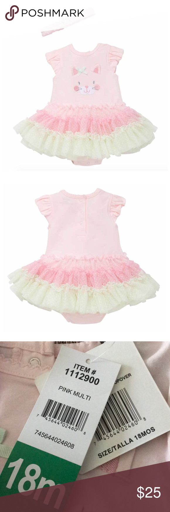 Little me little girls tutu dress nwt