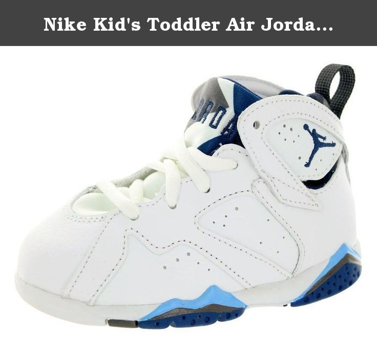 a3102bfc1897da Nike Kid s Toddler Air Jordan 7 Retro White University Blue Flint Grey French  Blue 5C. Jordan Toddlers 7 Retro BT White University Blue Flint Grey ...