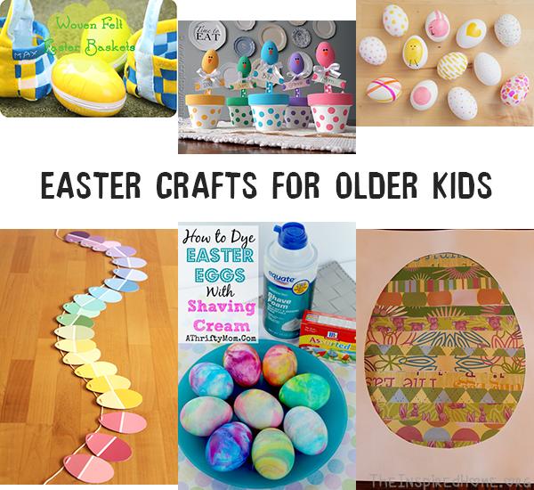Wonderful Craft Ideas For Older Kids Part - 2: Easter Crafts For Kids