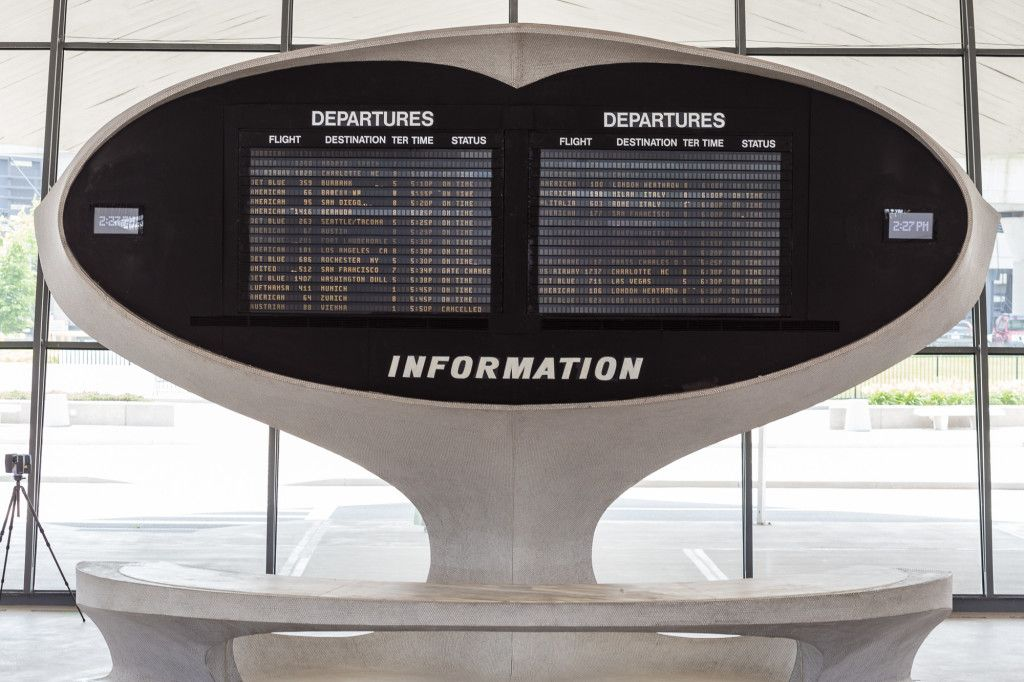 Wired Hyperlapse Of Twa Terminal Three Flight Centertime Capsuleinternational Airportboutique Hotelsinterior