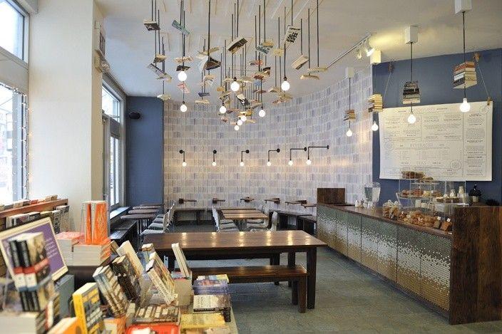 Mcnally Jackson Cafe By Front Studio Architects Cafe Restaurant