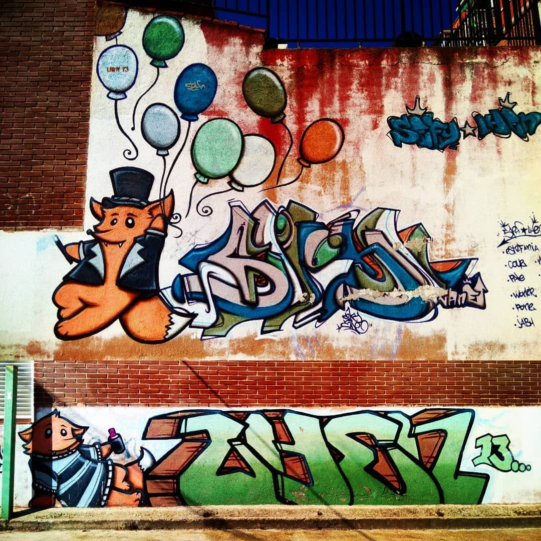 Watch the best youtube videos online graffitimadriz grafflife graffitiartist paint