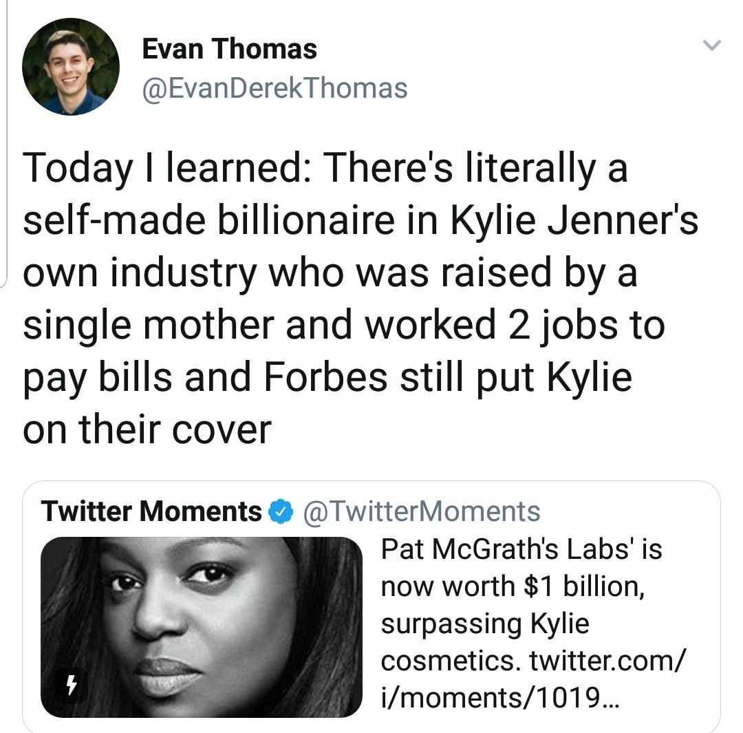 Photo of Pat McGrath is a straight up legend, Kylie Jenner is a teenager who made a coupl…