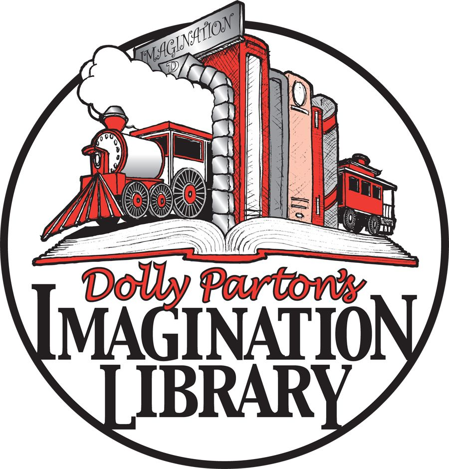 dolly parton u0027s imagination library program logo free books for