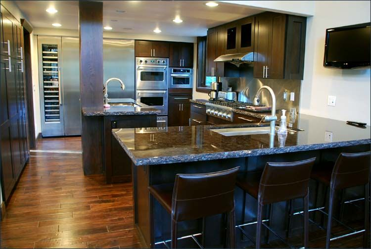 Gourmet Kitchen Design Style Gourmet Kitchen With Professional Appliances Including A Wine .