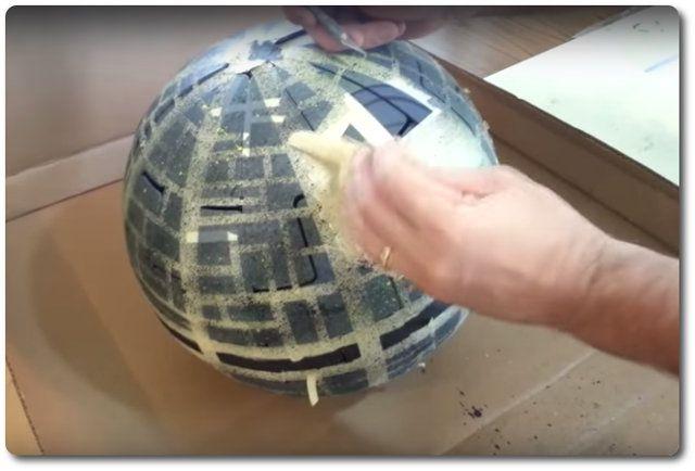 Bauanleitung Todesstern Aus Ikea Lampe Bauen Star Wars Room Star Wars Party Star Wars Humor