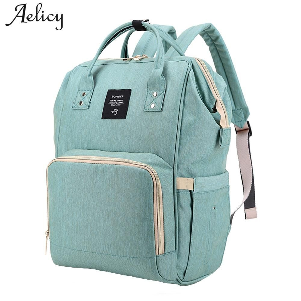 Multi-Function Waterproof Travel Tote Bags for Mum /& Dad Changing Backpack Bag Baby Changing Bag Rucksack Grey-Pink Wiscky Large Capacity Nappy Backpacks Baby Diaper Bags