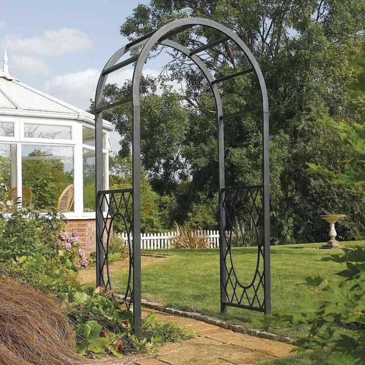 Arche De Jardin Pour Plantes Grimpantes 6 Styles Pour Creer Un Point Focal Magnifique Dans Son Espace Arche Jardin Arcade De Jardin Structure De Jardin