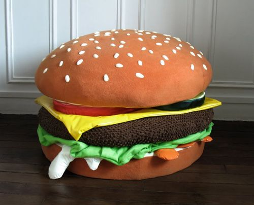 Burgerac Maxime P 233 Court S Pouf Cheeseburger Digest
