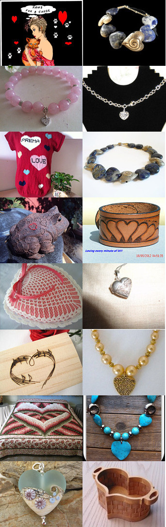 Nov Hearts Makes Dec Gifts by Patti Turon on Etsy--Pinned with TreasuryPin.com