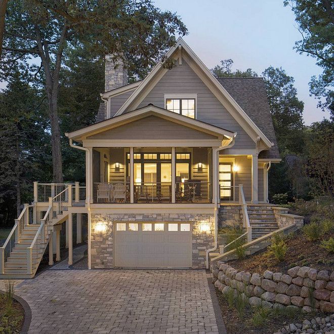 lake house exterior paint color and exterior stone lake on lake cottage colors id=25138