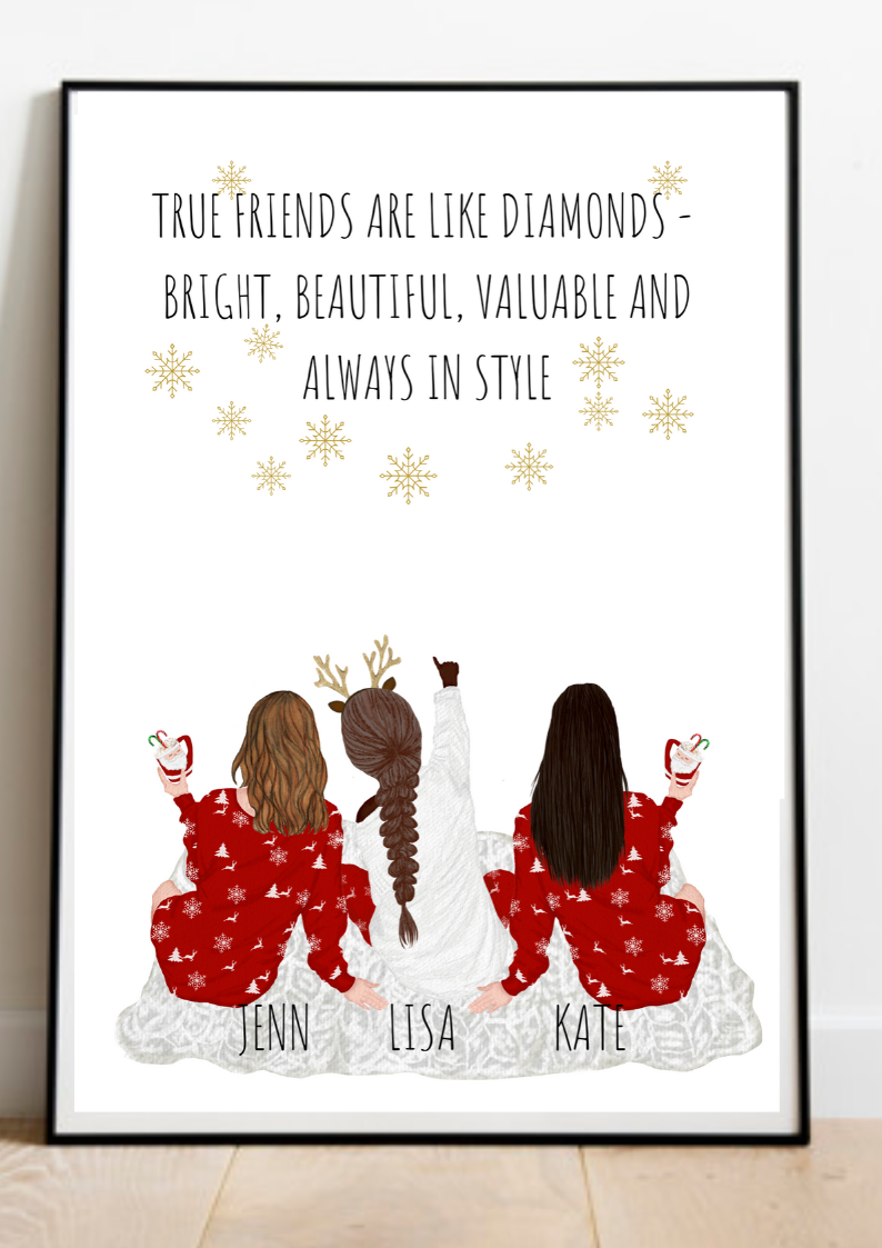Christmas Gift Personalized Gift Sister Gift Best Friends Presen Personalized Best Friend Gifts Personalised Gifts For Sister Christmas Gifts For Girlfriend