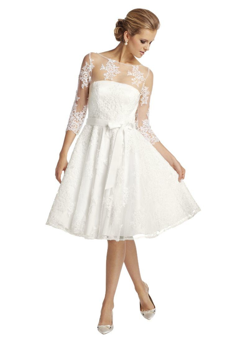 Gold Weisses Kleid