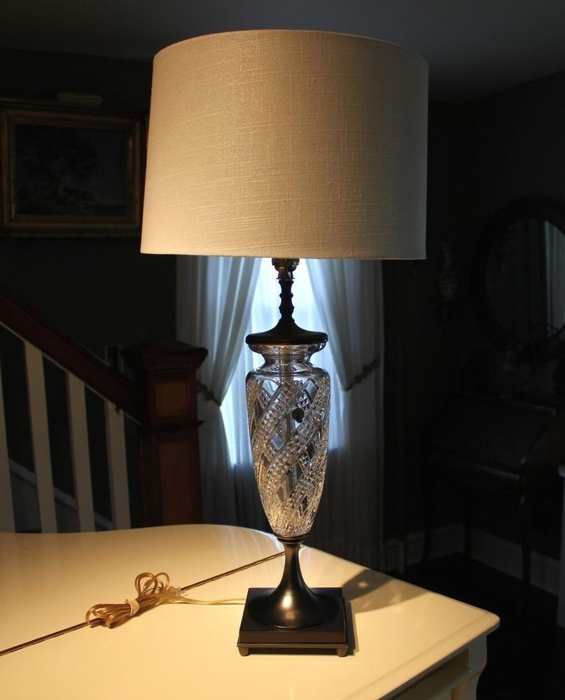 Surprising Waterford Crystal Olympia 33 3 Way Electric Table Lamp Download Free Architecture Designs Scobabritishbridgeorg