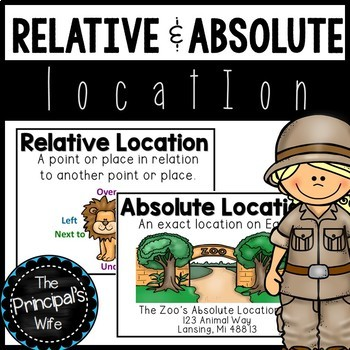 Absolute And Relative Location In 2021 Student Activities Digital Lessons Social Studies