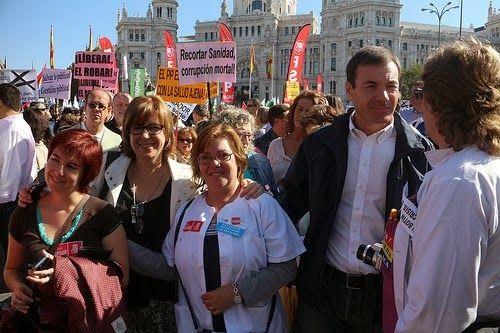 Un día como hoy en #DECDLT decíamos que AYER EL PSOE SI SE MANIFESTÓ