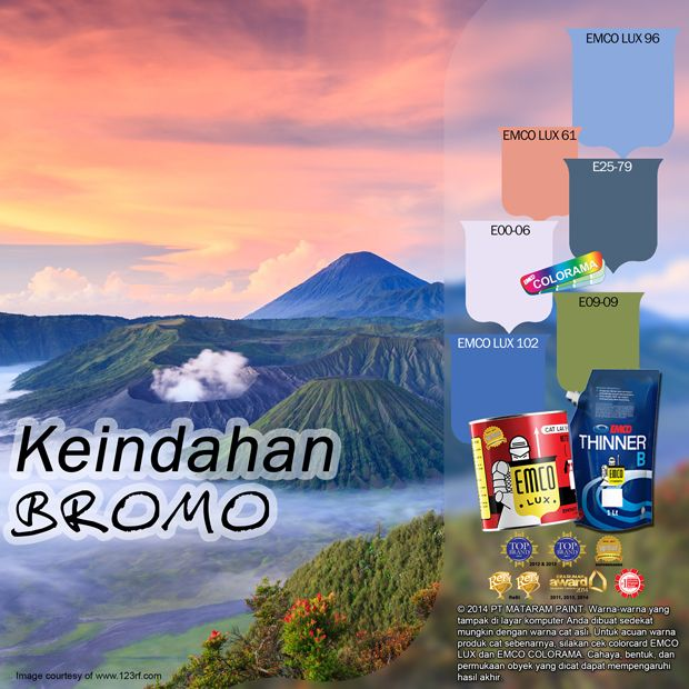 Keindahan Bromo  ‪#‎mountain‬ ‪#‎bromo‬ ‪#‎wonderful‬ ‪#‎indonesia‬ ‪#‎color‬ ‪#‎likeforlike‬ http://matarampaint.com/detailNews.php?n=384