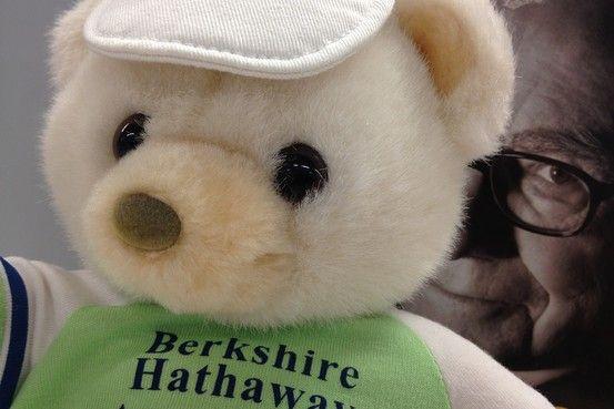 Everything Warren Buffett: THE WALL STREET JOURNAL: Warren and the Bear: Questions From a Berkshire Bear (We Bought on eBay)