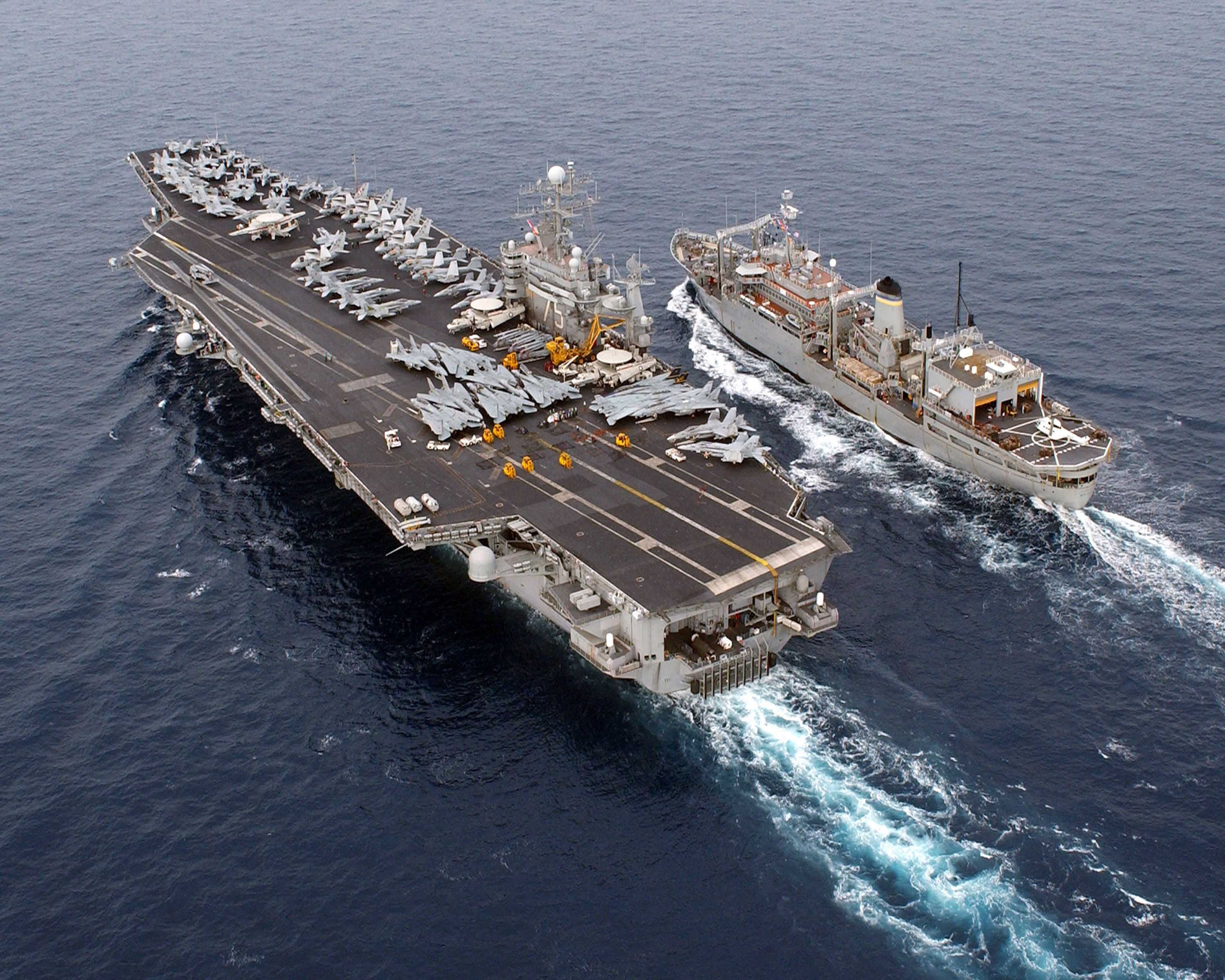 Chain Of Command On Air Craft Carriers