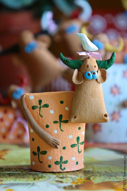 """Купить Коровки """"Чудесные"""" - белый, корова, теленок, бык ..."""