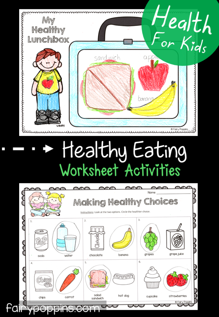 Healthy Eating Activities For Kids   Healthy food ...