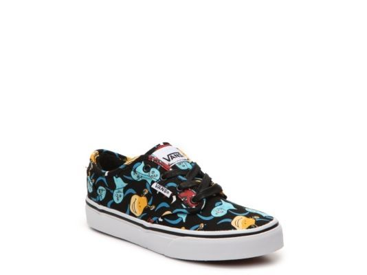 30249f61db5752 Men s Vans Atwood Monster Boys Toddler   Youth Sneaker - Multicolor ...