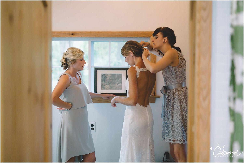 Wedding dresses pittsburgh  Madison  Sam A Rainy Camp Wedding u Franklin PA u Getting Ready