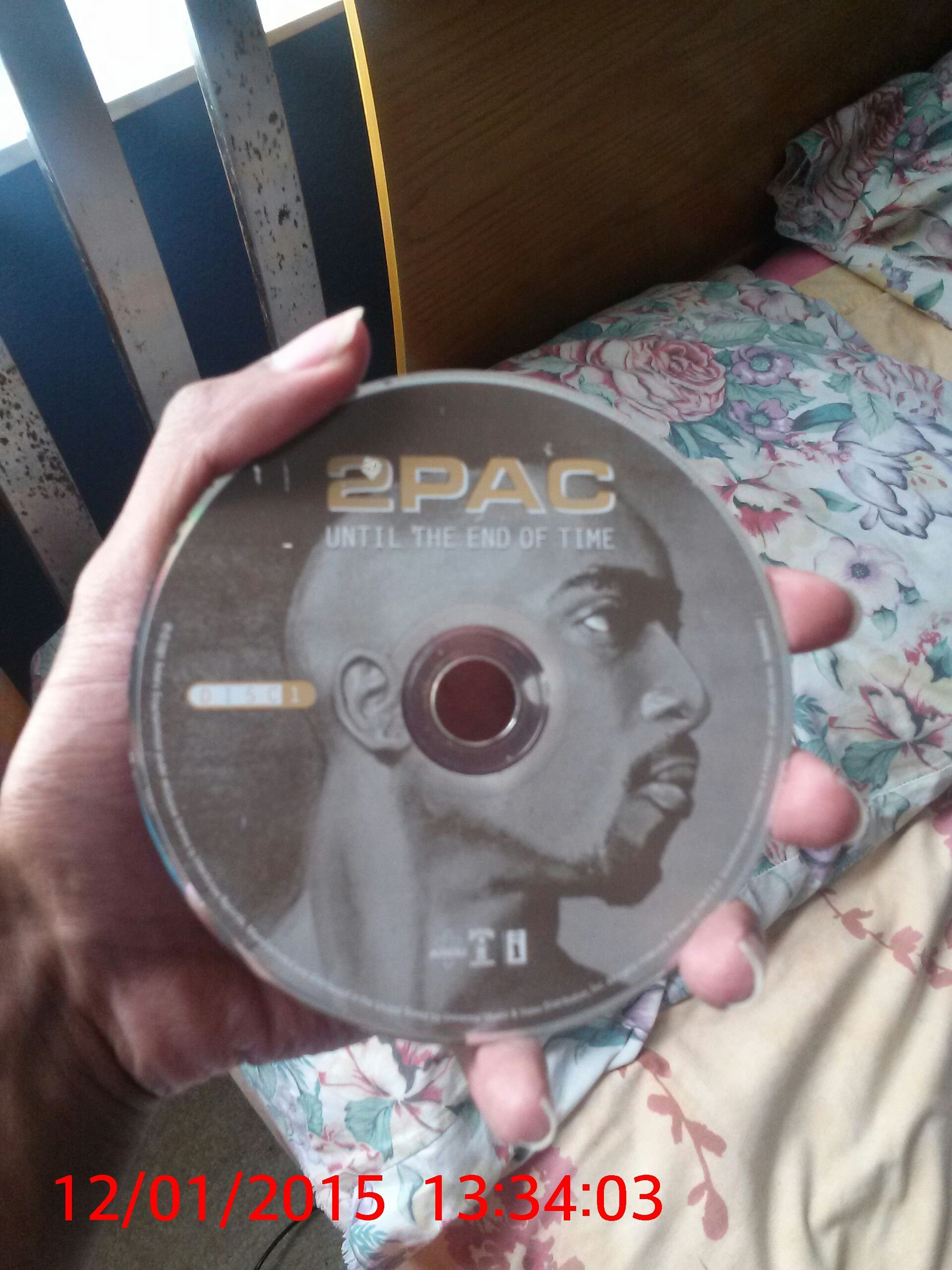 2001 Release Of 2pac Until The End Of Time I Held History In My