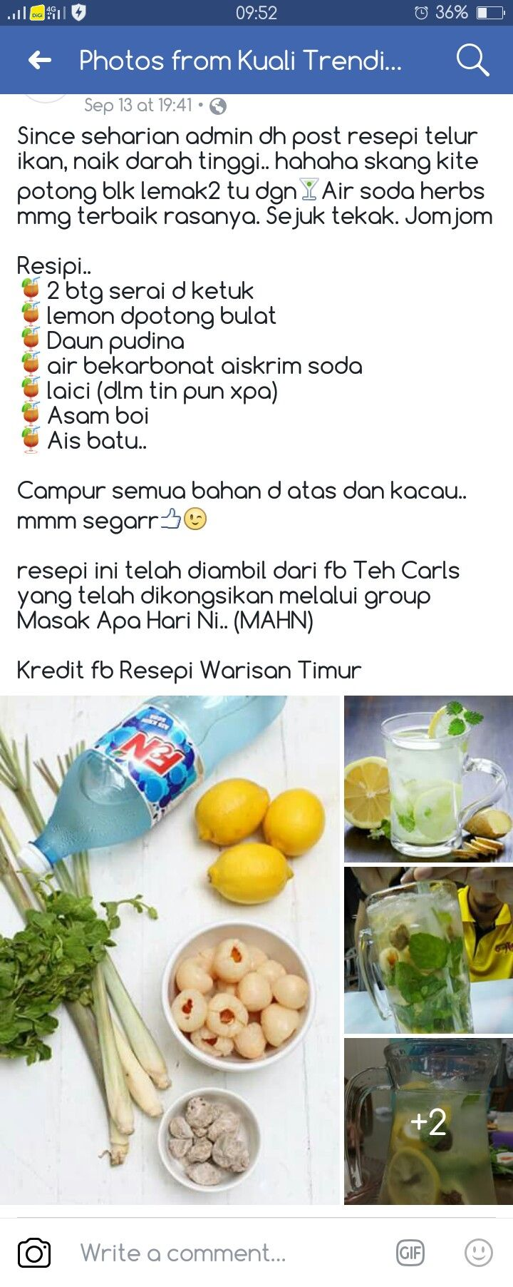 Soda Herbs Recipes Food Fruit