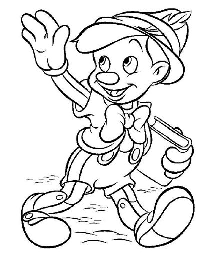 Pinocchio Coloring Pages Disney Coloring Pages Cartoon Coloring Pages Disney Colors