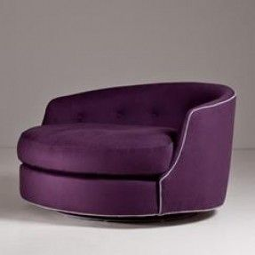 A Large Milo Baughman Designed Circular Swivel Love Chair This Is THE Chair  That I Have Been Searching For Forever!