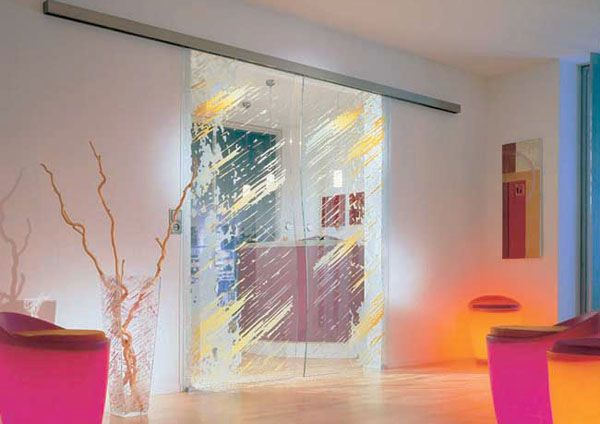 Glass Door Designs For Living Room Magnificent Interior Glass Doors 11 Bright And Modern Interior Design Ideas Review